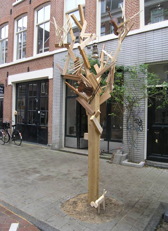 boom van afvalhout Firma 400
