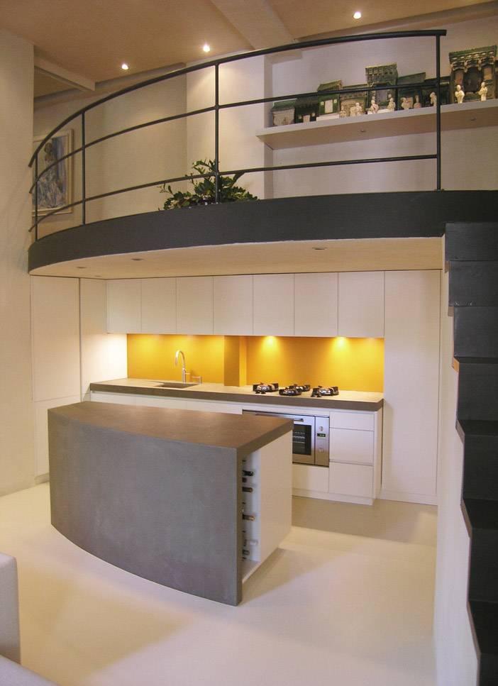 beton cire keuken Firma 400