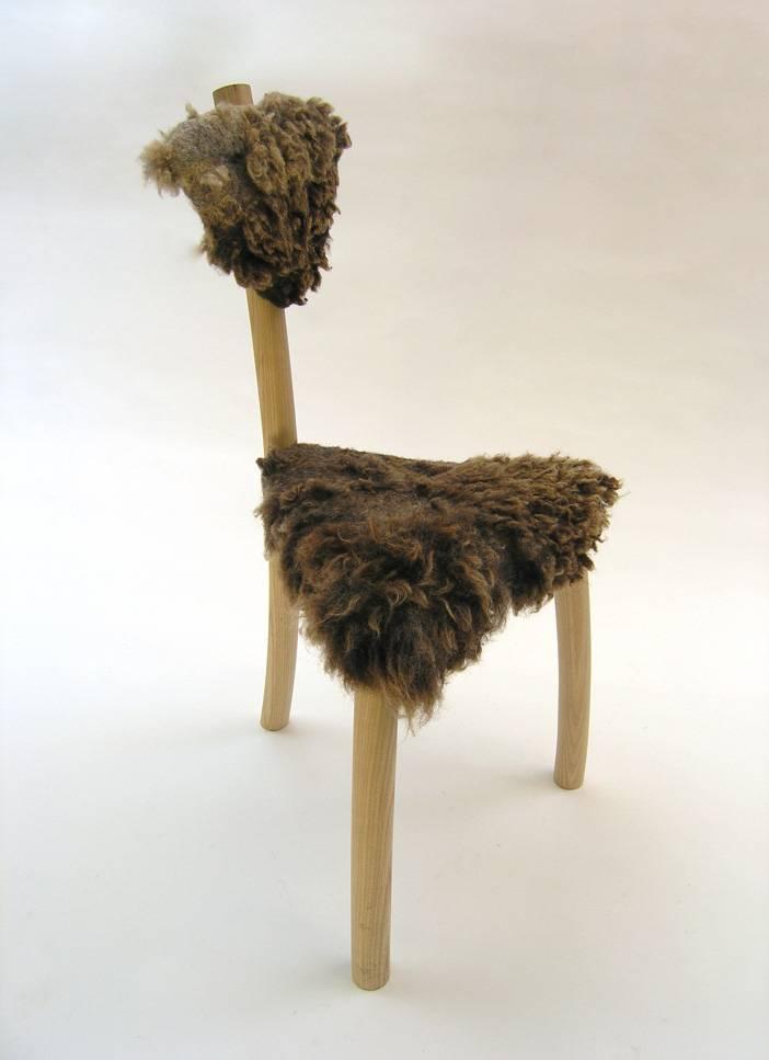 stoel met wol Firma 400