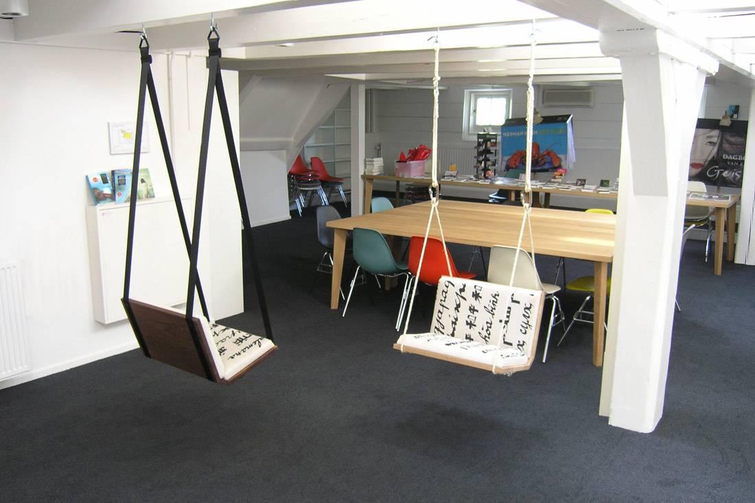 schommels in kantoor Firma 400