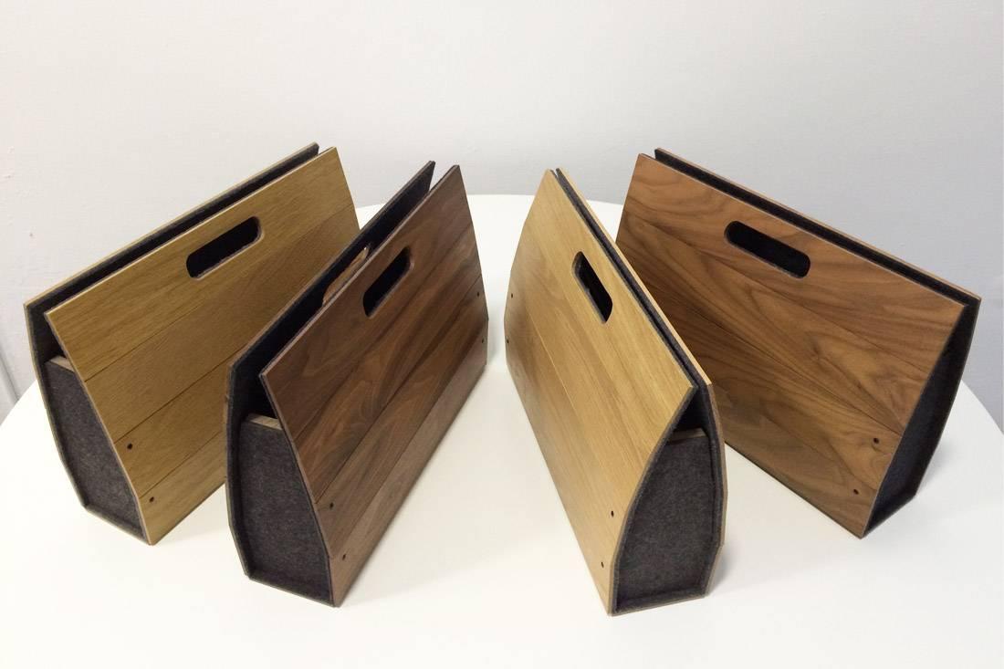 houten tas Firma 400